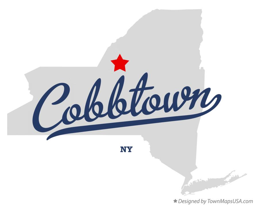 Map of Cobbtown New York NY