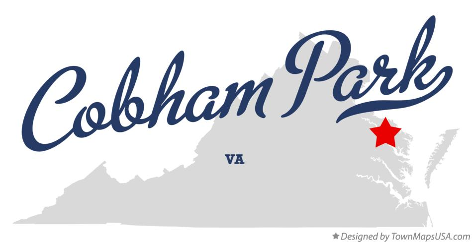 Map of Cobham Park Virginia VA