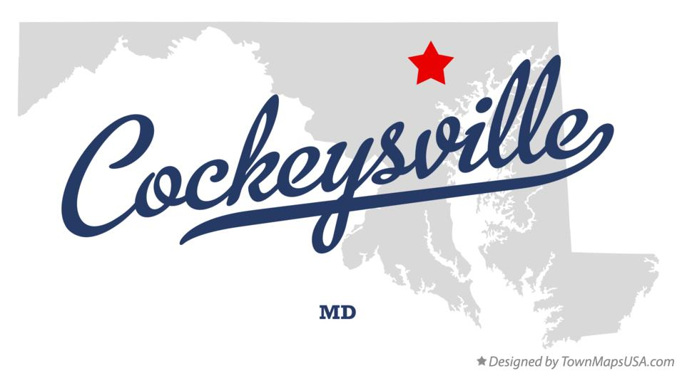 Map of Cockeysville Maryland MD