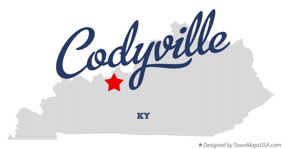 Map of Codyville Kentucky KY