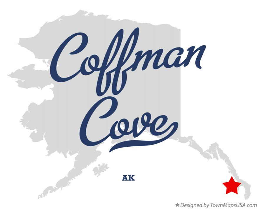 Map of Coffman Cove Alaska AK