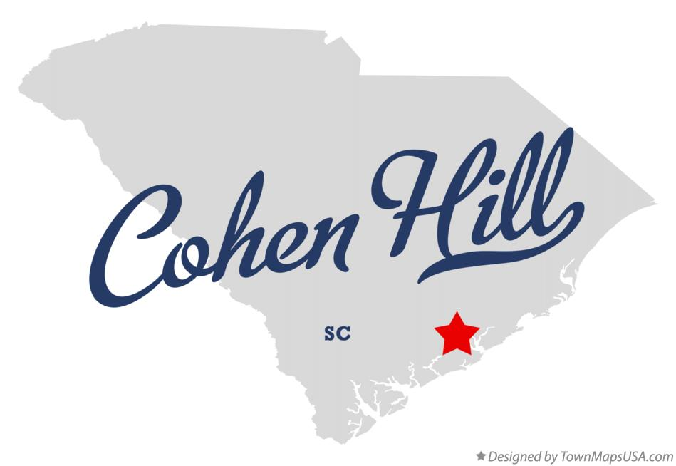 Map of Cohen Hill South Carolina SC