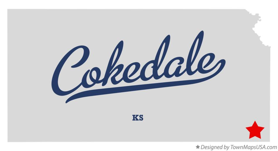 Map of Cokedale Kansas KS
