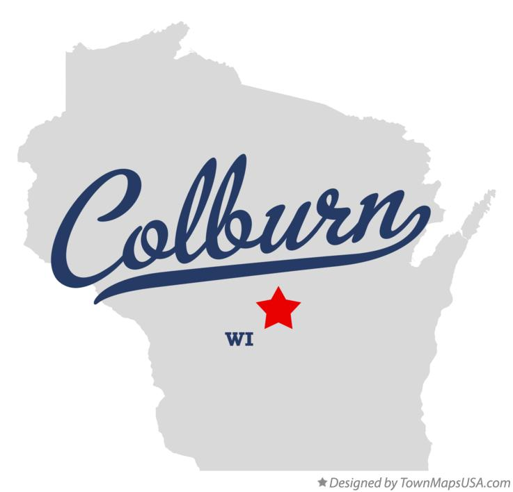 Map of Colburn Wisconsin WI
