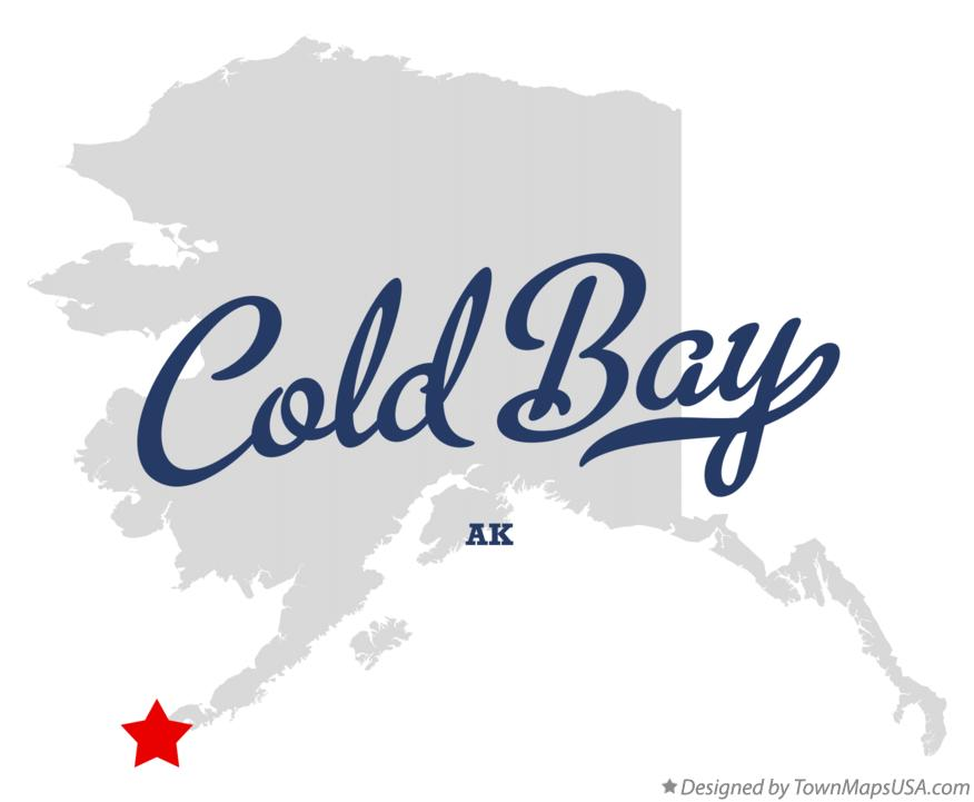 Map of Cold Bay Alaska AK