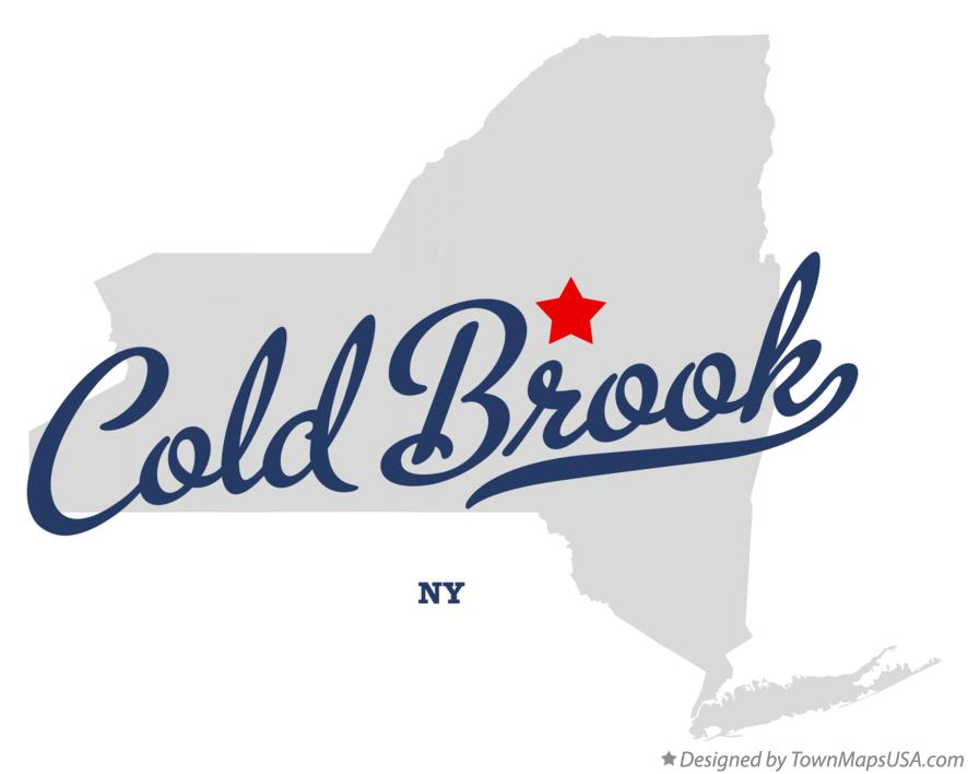 Map of Cold Brook New York NY