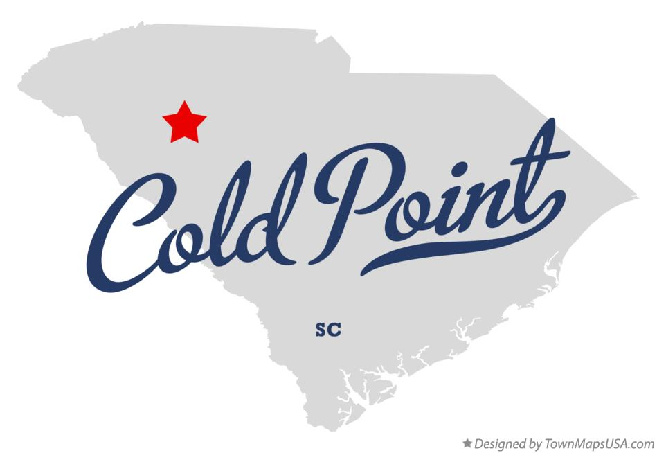 Map of Cold Point South Carolina SC