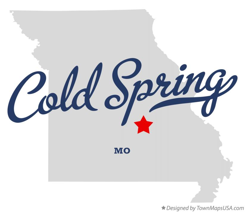 Map of Cold Spring Missouri MO