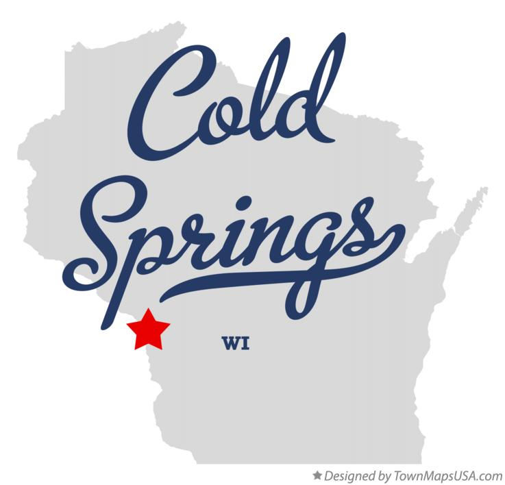 Map of Cold Springs Wisconsin WI