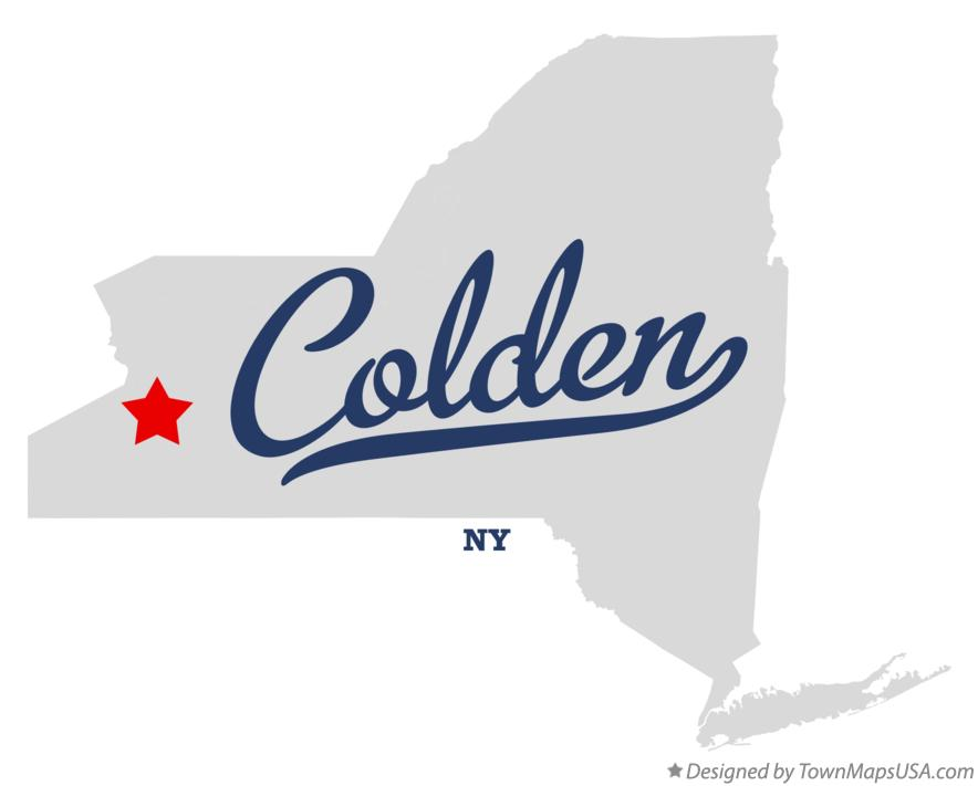 Map of Colden New York NY