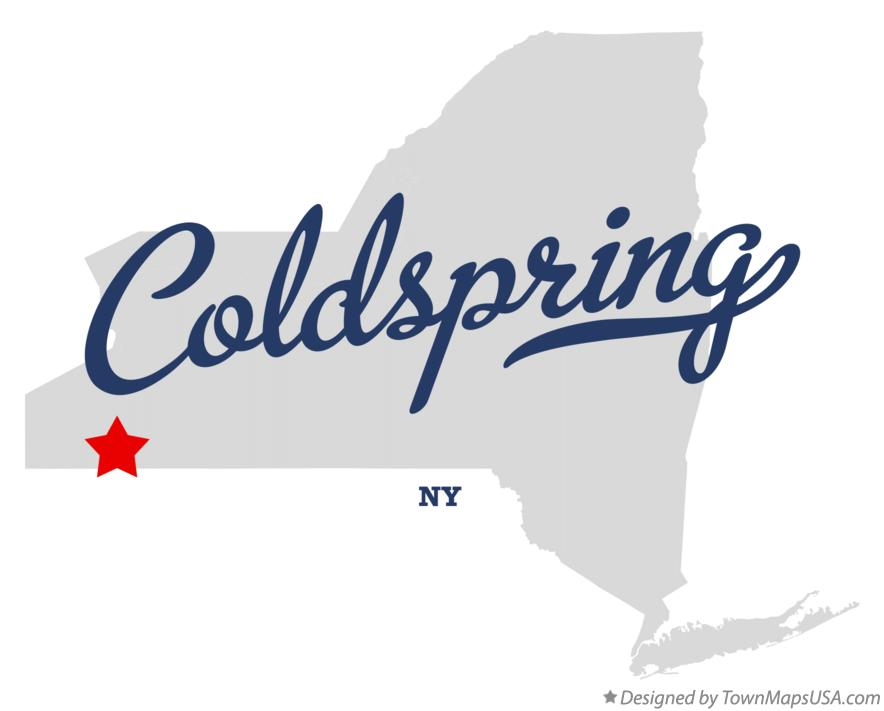 Map of Coldspring New York NY