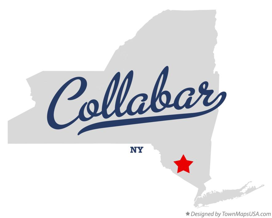 Map of Collabar New York NY