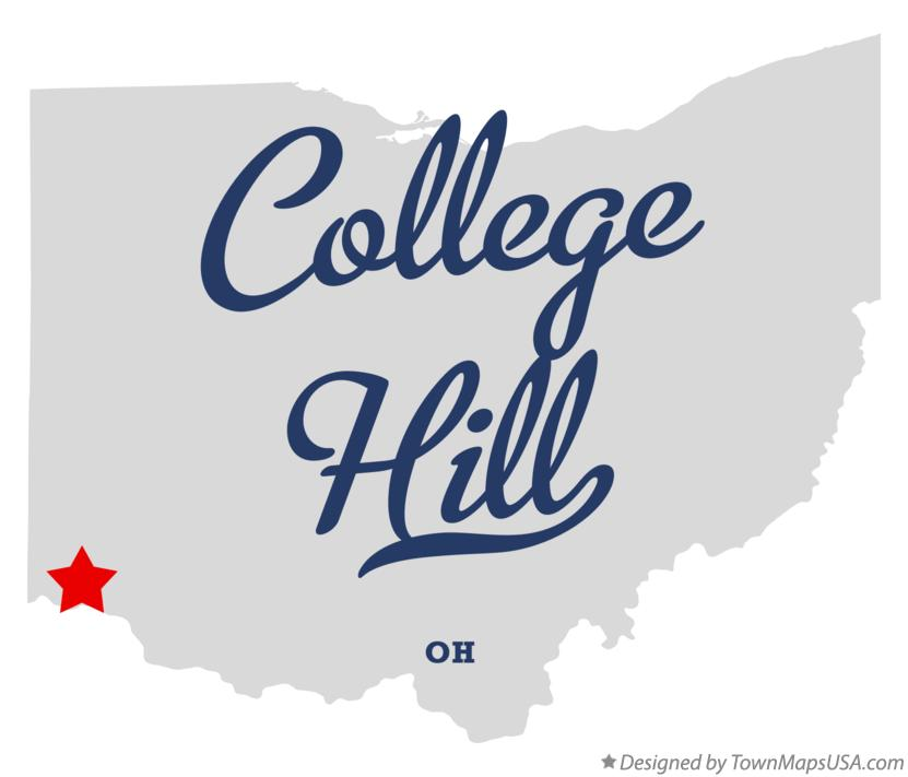 Map of College Hill Ohio OH