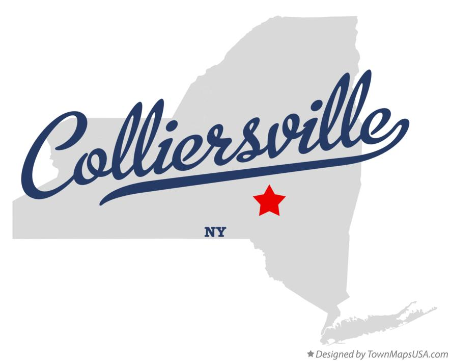 Map of Colliersville New York NY