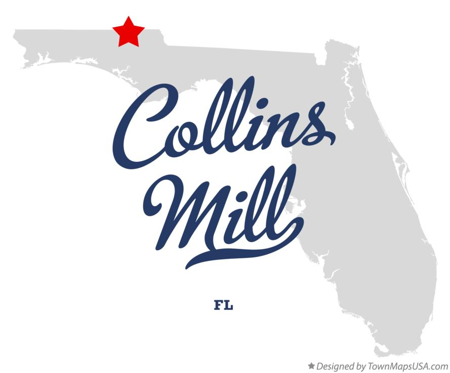 Map of Collins Mill Florida FL