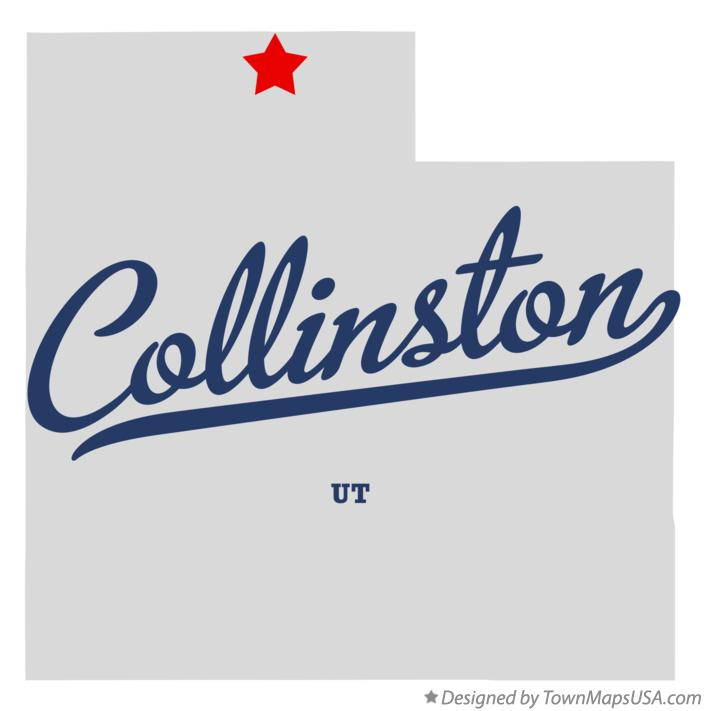 Map of Collinston Utah UT