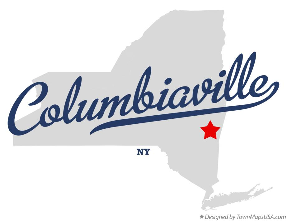 Map of Columbiaville New York NY