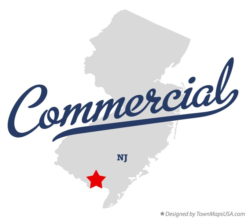 Map of Commercial New Jersey NJ