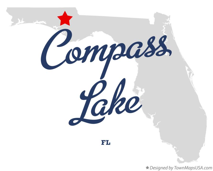 Map of Compass Lake Florida FL