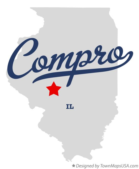 Map of Compro Illinois IL