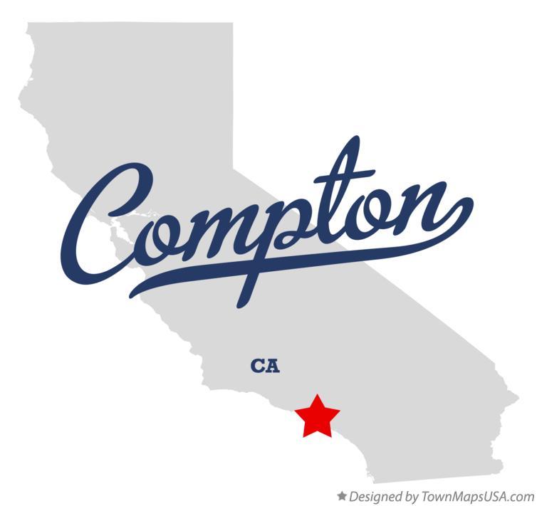 map of pton ca california