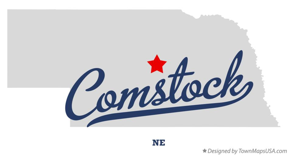 Map of Comstock Nebraska NE