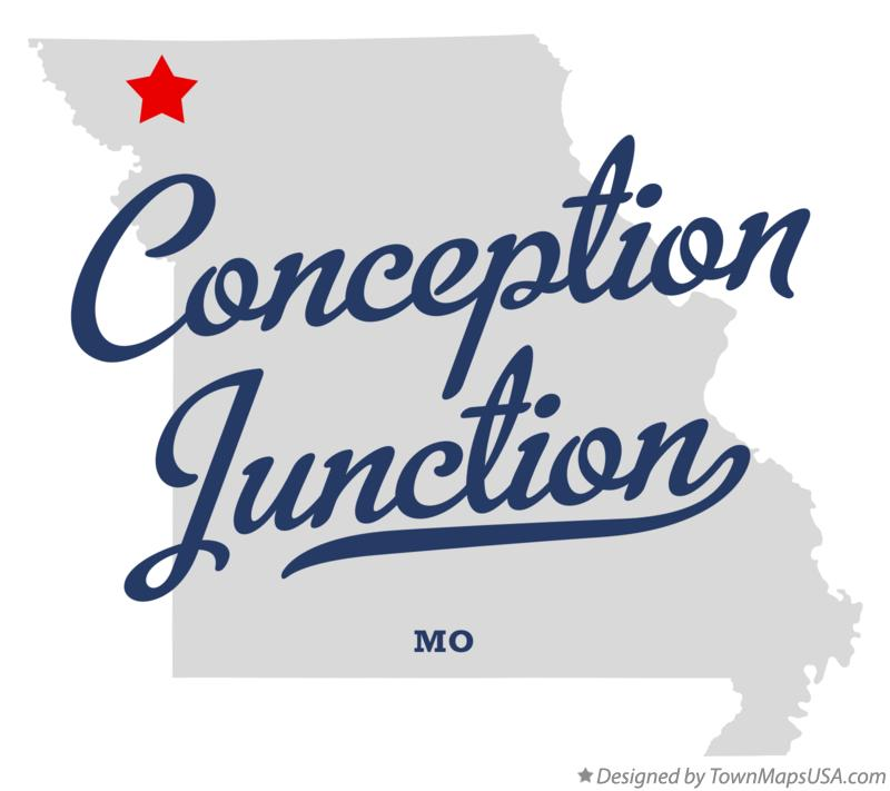 Map of Conception Junction Missouri MO