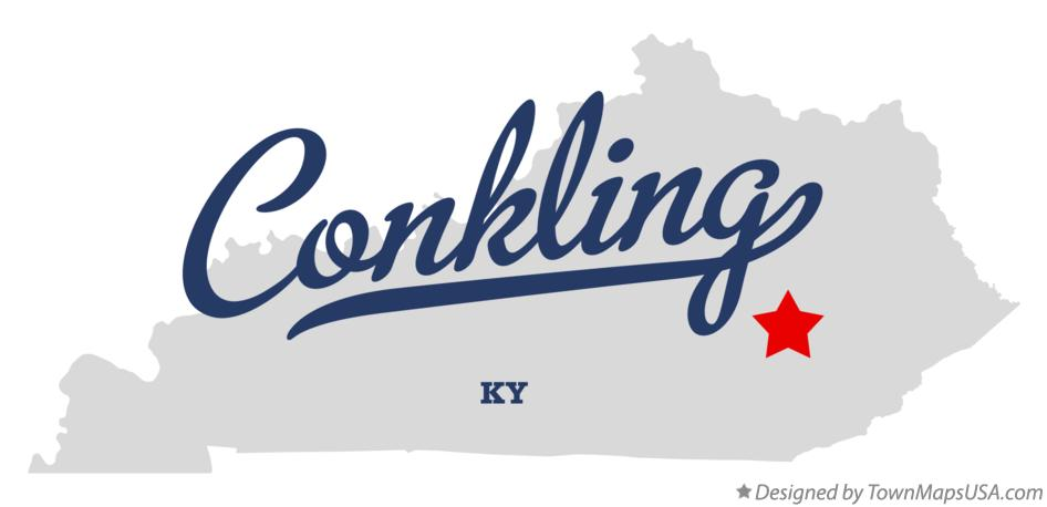 Map of Conkling Kentucky KY
