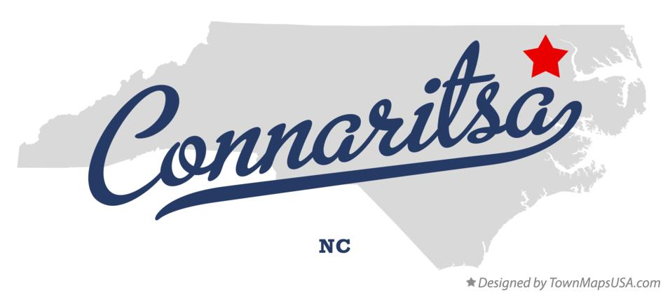 Map of Connaritsa North Carolina NC