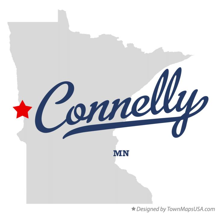 Map of Connelly Minnesota MN