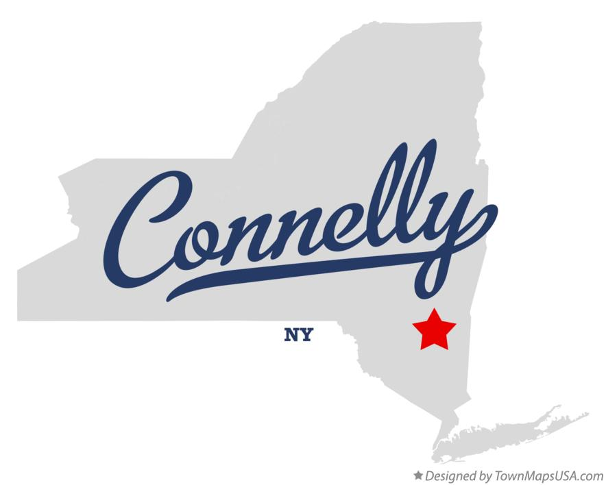 Map of Connelly New York NY