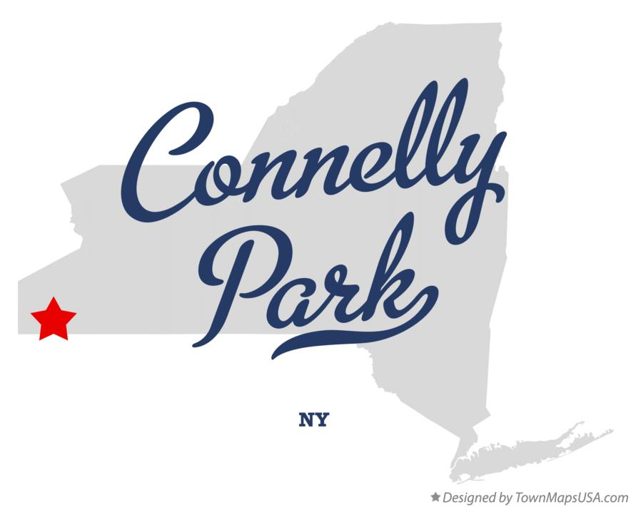 Map of Connelly Park New York NY