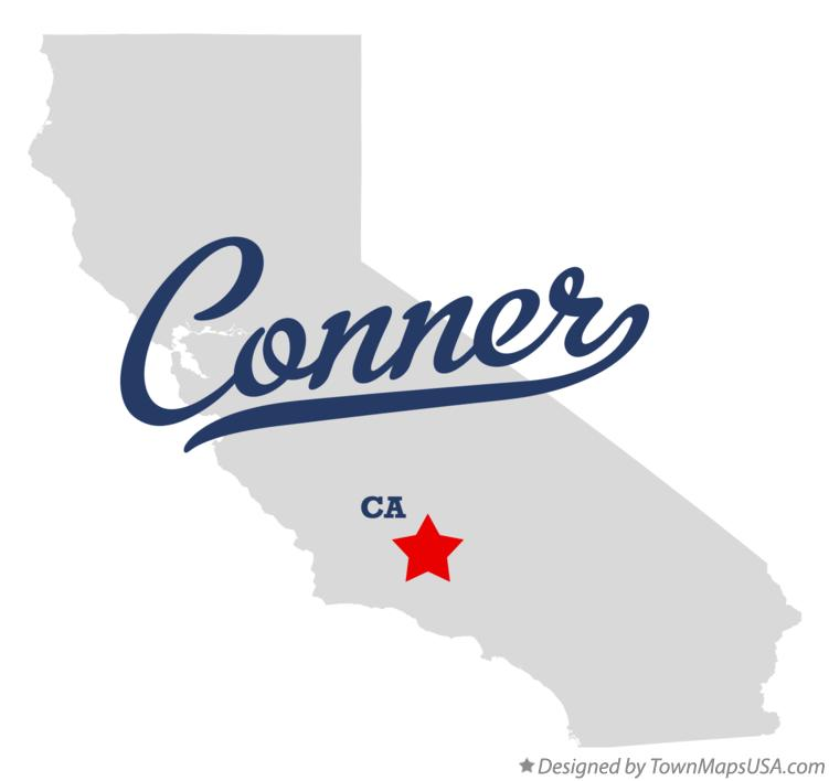 Map of Conner California CA