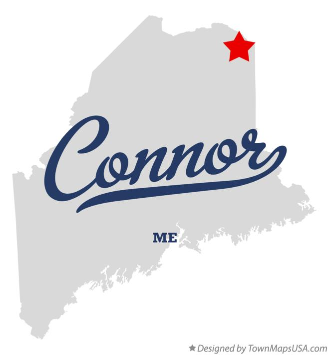 Map of Connor Maine ME