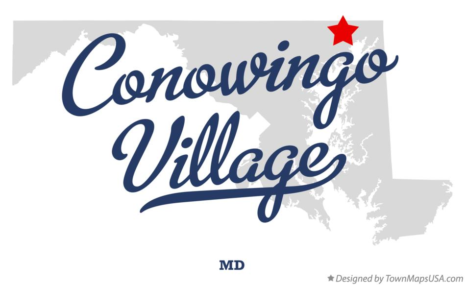 Map of Conowingo Village, MD, Maryland
