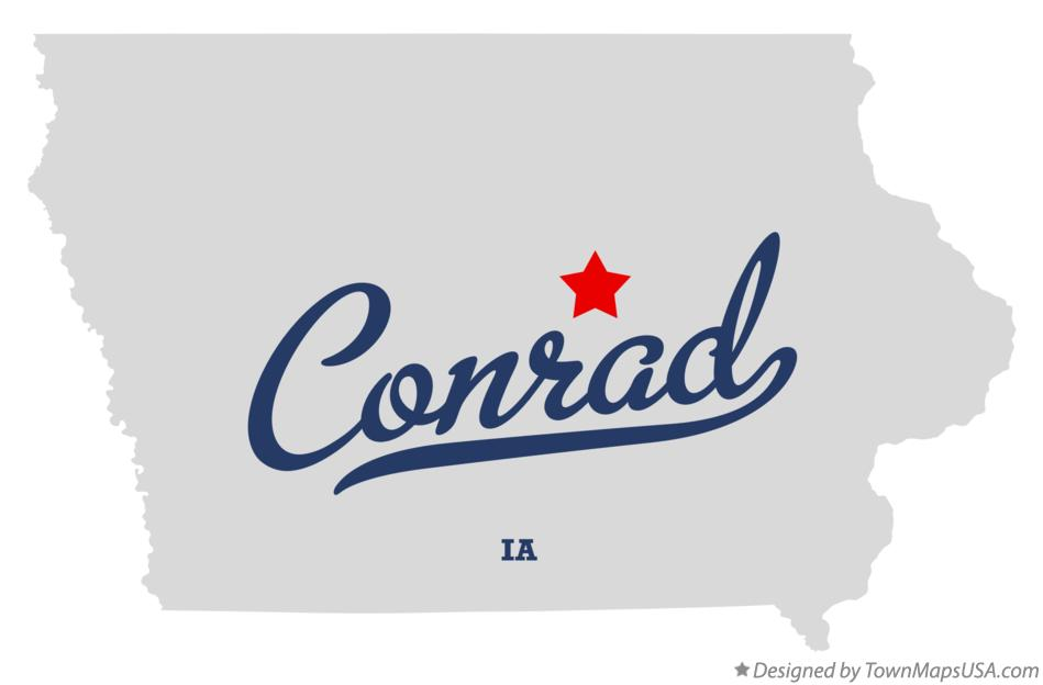 Map of Conrad Iowa IA
