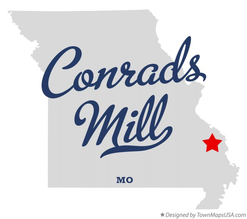 Map of Conrads Mill Missouri MO