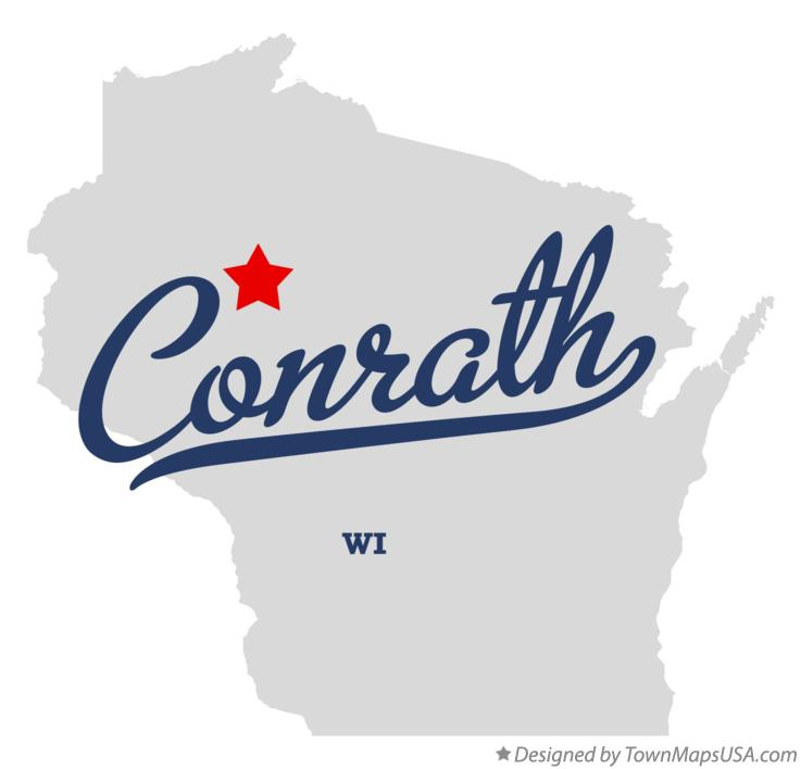 Map of Conrath Wisconsin WI