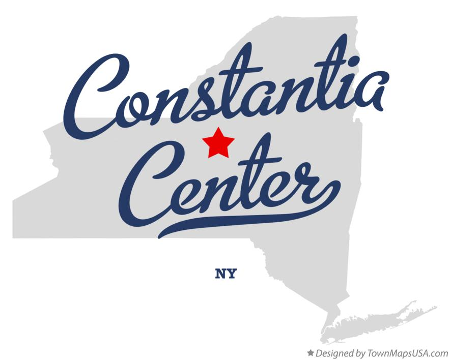 Map of Constantia Center New York NY