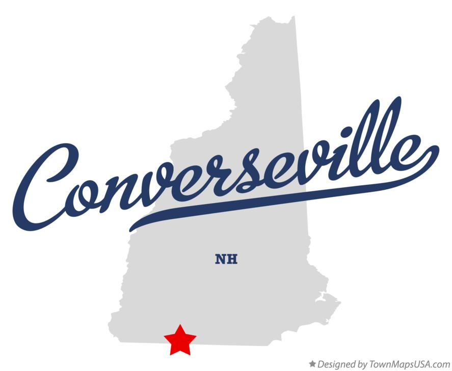 Map of Converseville New Hampshire NH