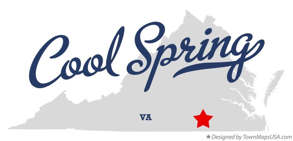 Map of Cool Spring Virginia VA