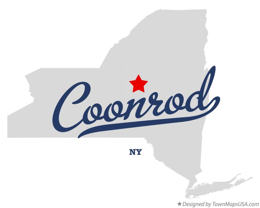 Map of Coonrod New York NY