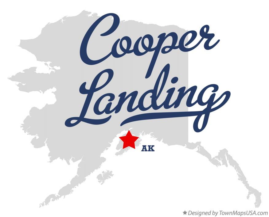 Map of Cooper Landing Alaska AK