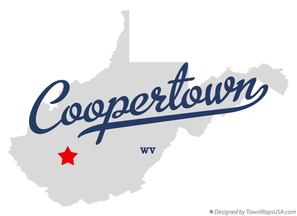 Map of Coopertown West Virginia WV