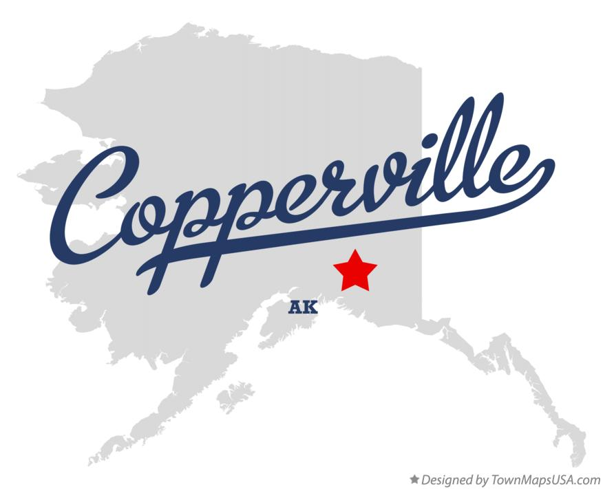 Map of Copperville Alaska AK