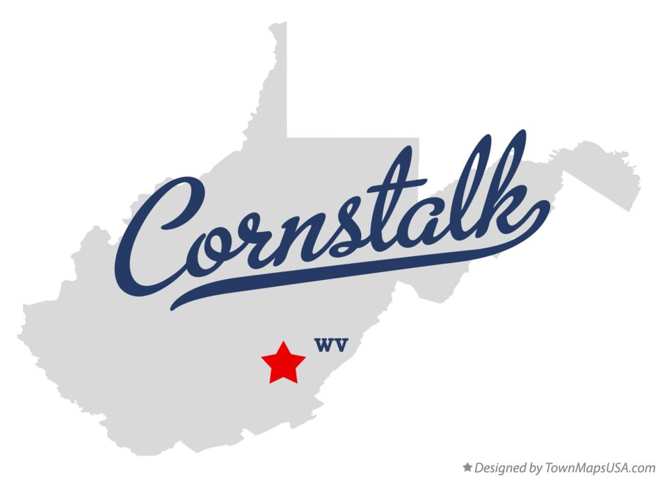 Map of Cornstalk West Virginia WV
