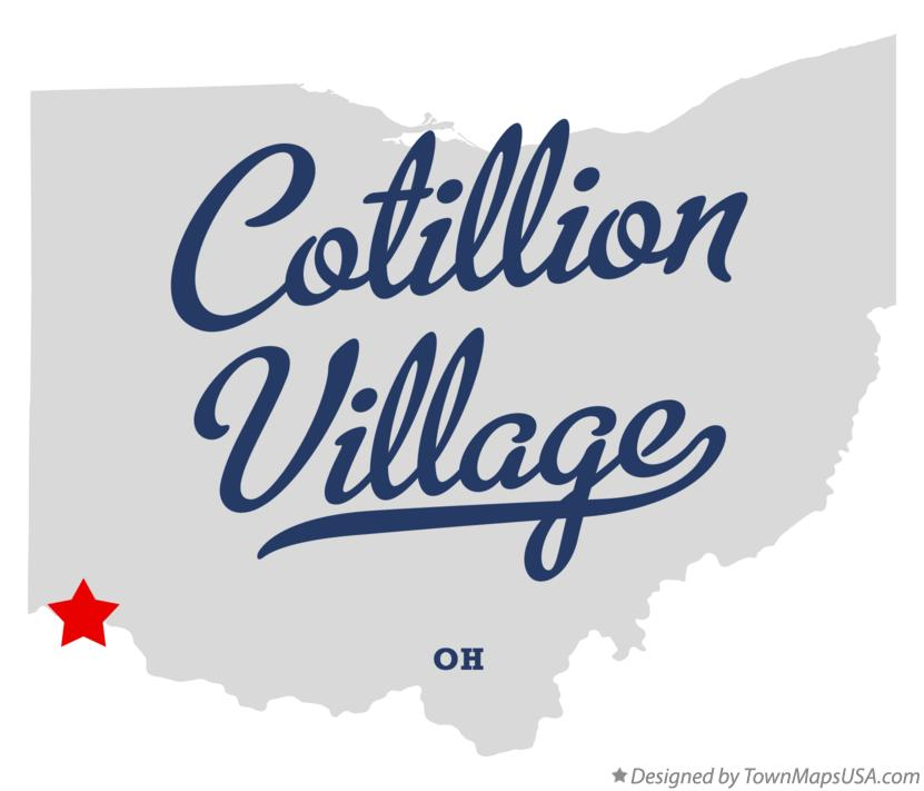 Map of Cotillion Village Ohio OH