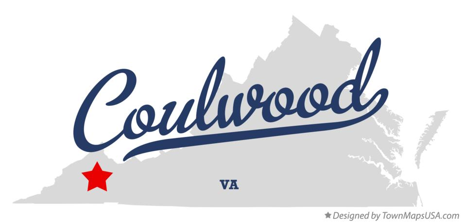 Map of Coulwood Virginia VA