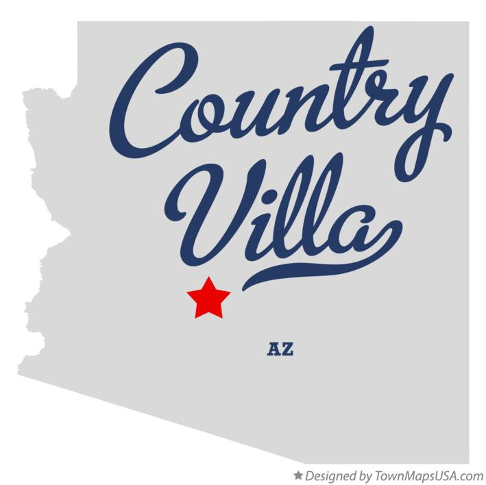 Map of Country Villa Arizona AZ