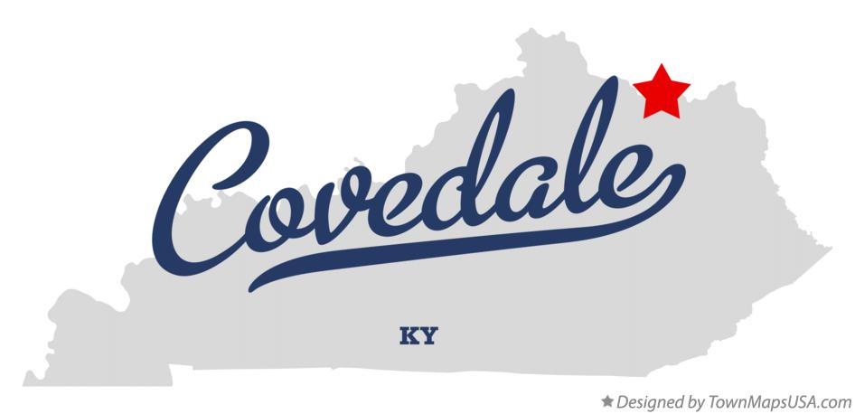 Map of Covedale Kentucky KY